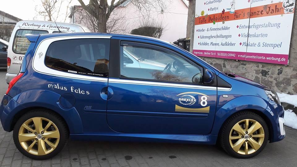 Auto Sticker Fahl